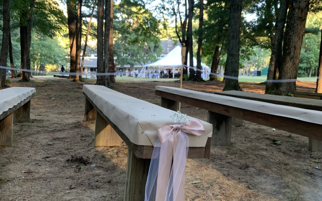 5 Reasons to Host Your Camp Wedding With Us!